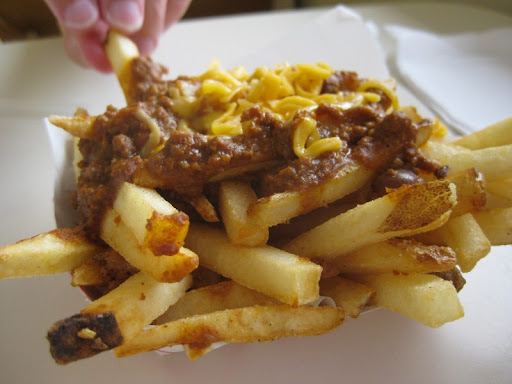 Chili-Cheese Fries at Lotaburger