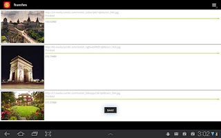 Screenshot of Stumbler Tablet: Tumblr Search