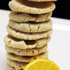 Raw Lemon Cookies