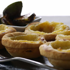 Rose Water Custard Tarts