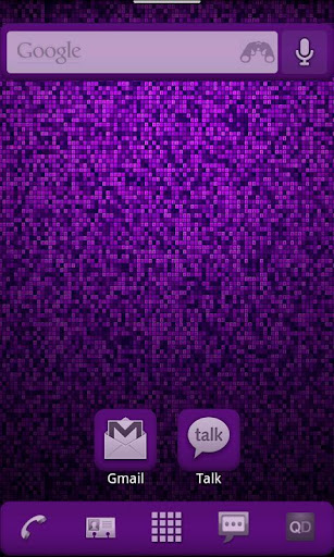 Purple ADW Theme