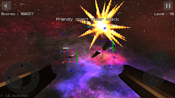 Screenshot of Gunner Free Space Defender