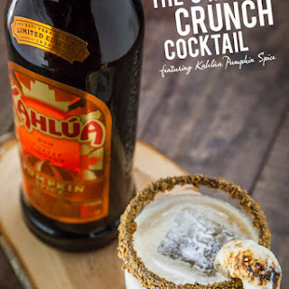 The S'mores Crunch Cocktail