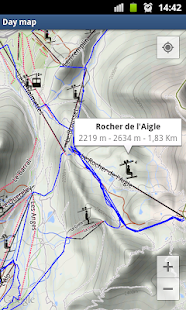 Ski Trace - Maps Plugin - screenshot