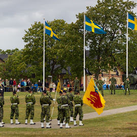 Color Guard by Oscar Haraldsson - News & Events Politics ( army, armed forces, lifestyle, travel/session, people, panorama, military )