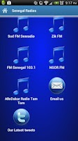 Screenshot of Senegal Radios