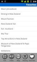 Screenshot of New Zealand - Travel Guide