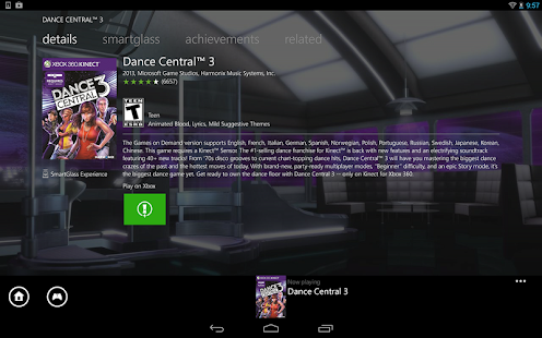 Download Xbox 360 SmartGlass APK for Android Kitkat