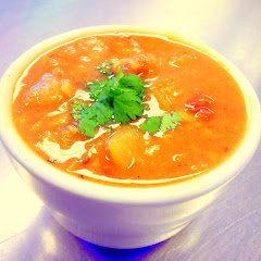 Delicious Indian Soups, flavors rotate daily, always GF!