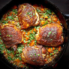 Crispy Berbere Chicken