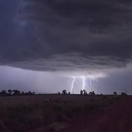 by Richard Turner - Landscapes Weather ( thunder, clouds, lightning, wether, storm, rain )