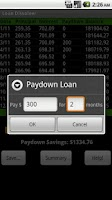 Screenshot of Loan Dissolver Lite