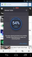 Screenshot of Browse Faster for UC Browser