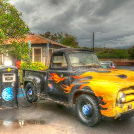 Old School Truck by Ralph Resch - Transportation Automobiles ( truck )