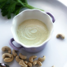 Curry Ranch Dressing - a raw vegan