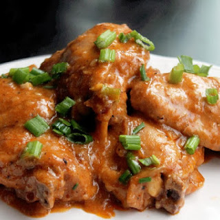 Smothered Chicken with Mushroom Gravy Slow Cooker