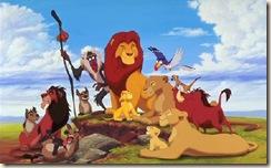 Walt Disney - Lion King family dim