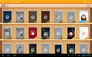 Screenshot of EpiReader