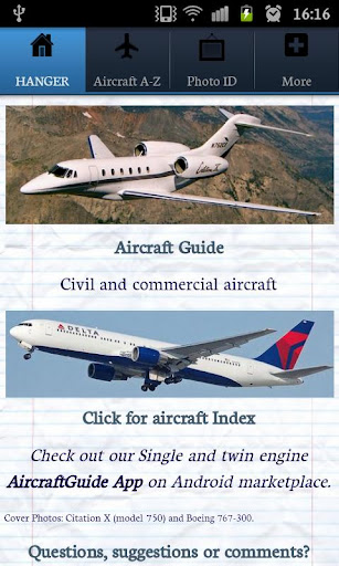 Aircraft Information Guide