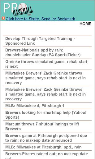 Milwaukee Baseball News