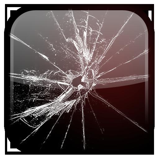 破裂萤幕动态壁纸 個人化 App LOGO-APP開箱王