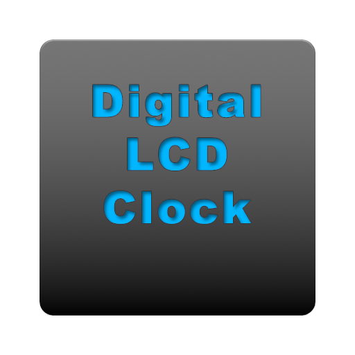 Digital LCD Clock - Free LOGO-APP點子