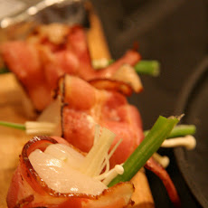 Chinese Bacon Wrapped Scallops