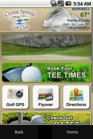 【免費旅遊App】Crystal Springs Golf Club-APP點子