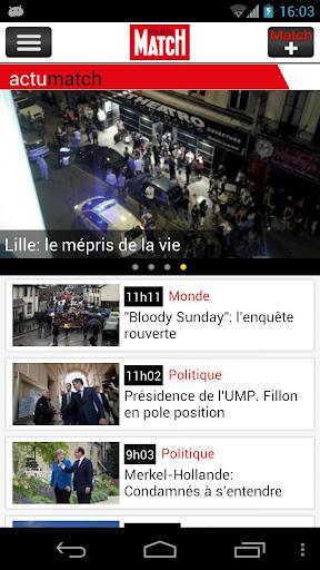 【免費新聞App】Paris Match Actu-APP點子