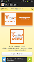 Screenshot of Wifi.id Generator