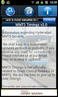 Screenshot of MMTS Hyderabad