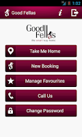 Screenshot of Good Fellas - Booking App