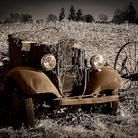 Mechanized Decay by Nancy Senchak - Transportation Automobiles