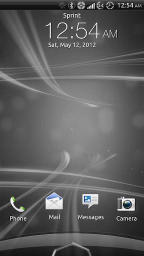 【免費個人化App】Sense 3.6 Skin Black & Gray-APP點子
