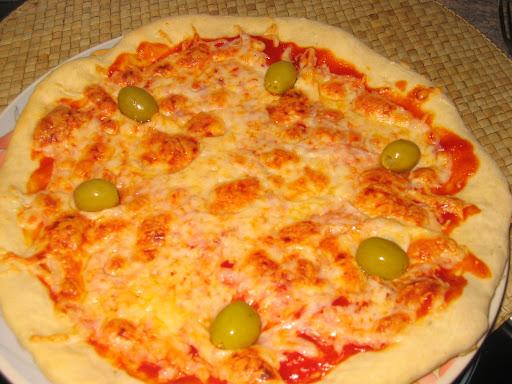 Cómo preparar una pizza casera