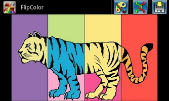 Screenshot of FlipColor