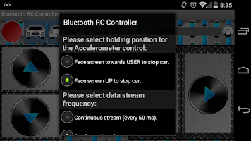 Screenshot of Arduino Bluetooth RC Car