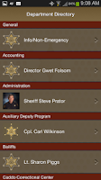 Screenshot of Caddo Parish Sheriff's Office