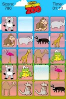 Screenshot of Giraffe's Matching Zoo