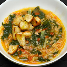 Swiss Chard and Pasta Soup