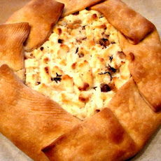 Goat Cheese and Mushroom Tart