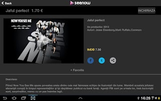 Screenshot of Seenow for Tablets