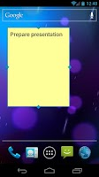 Screenshot of Simple Sticky Note Widget