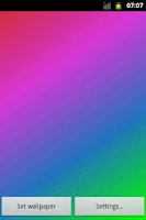 Screenshot of Rainbow Live Wallpaper