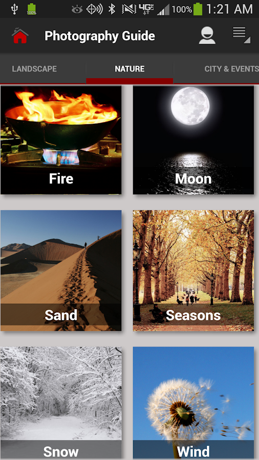 DSLR Photography Training apps Screenshot 1