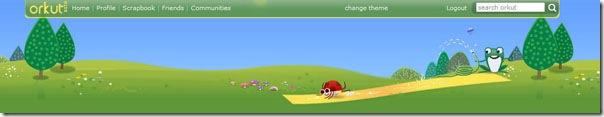 Orkut-Spring-Theme