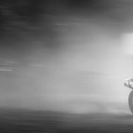 by Hakim Makassar - Sports & Fitness Motorsports ( motocross, black and white )