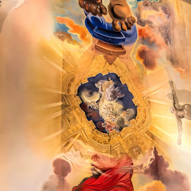 Dali ceiling by Vibeke Friis - Buildings & Architecture Other Interior ( ceiling, dalí theatre-museum, figueres, panorama, Architecture, Ceilings, Ceiling, Buildings, Building )