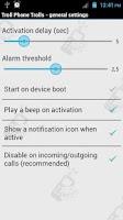 Screenshot of Anti Theft Troll Phone Trolls