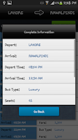 Screenshot of Travel Time PK